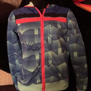 Coca Cola hooded jacket